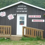 The Chowder Hut at Meat Cove