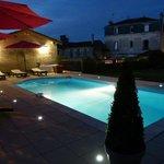 La piscine la nuit