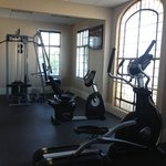 Fitness Room (Treadmill, Bike, Elliptical, and Multi function weight station)