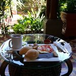 desayuno en hotel