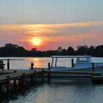 Ask us about our sunset boat tours that leave straight from our private dock!