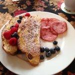 2nd course - breakfast