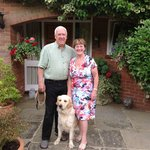 Jane and Roger Welcome you to Manor Barn House
