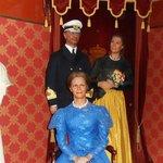 Wax Cabinet: royals