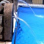 Piscina termale acqua sulfurea 34°C