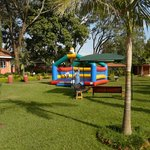 Beautiful grounds with activities