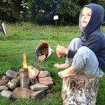 Marshmellows on the campfire
