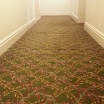 Bumpy carpet in corridor