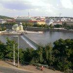 Prague from across Vltava