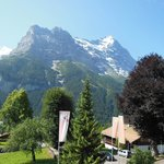 Eiger view from room balcony