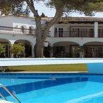 El Paraiso's old pool