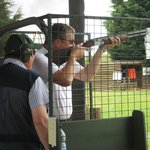 Afternoon at Clay Pigeon Shooting - July 2013