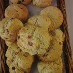 Scones - baked freshly every morning