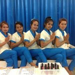 Diva Massage Staff with our new uniforms