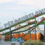 Pleasureland and Pirana ride
