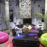 Innenhof/Lounge
