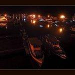 Pelabuhan Muaro... Malam Hari