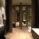 Huge bathroom area