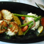 Tues Nights - Pick 2 Apps (scallops & crabcake) with veg/starch $21 !