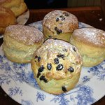 Our scones are big, both in size and taste!