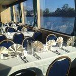 Interior air conditioned dining areas