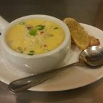 Cup of Seafood Chowder