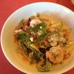 shrimp & scallop saute