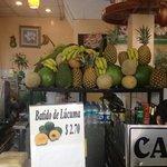 frutas para los jugos !