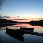 Munsungun Lake at Sunset