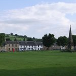 Across the green to the Auld Cross Keys
