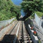 cliff top railway