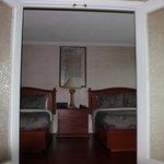 salon et chambre séparé