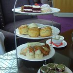 Sandwiches, Scones and Cakes in the Atrium