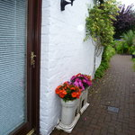 Entrance to cottage room