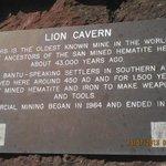 Ngwenya Mine (Lion Cave)