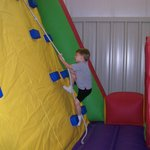 William climbing