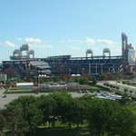 View from my room of the Phillies ballpark