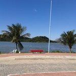 Area recreativa e Lagoa de Araçatiba próximo a Pousa