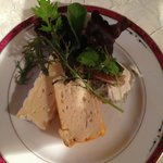 Cheeses with green salat