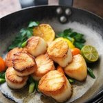 Seared Georges Bank Sea Scallops