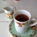 hidden monk tea with milk