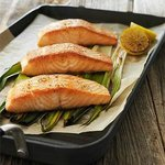 Maple Plank Roasted Salmon