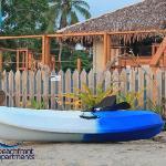 Enjoy complimentary use of kayaks...
