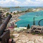 Fort Louis overlooking Marigot
