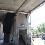 Estação de metrô mais próxima do Hotel