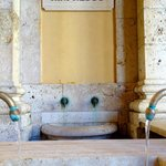 Water tasting at Terme Tettuccio