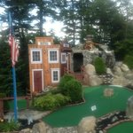 18 holes of challenging mini golf