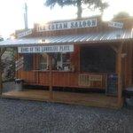 Ice Cream Saloon.