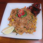 Chicken Cha Han - our egg fried rice dish