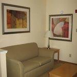 Artwork in king room/suite #215